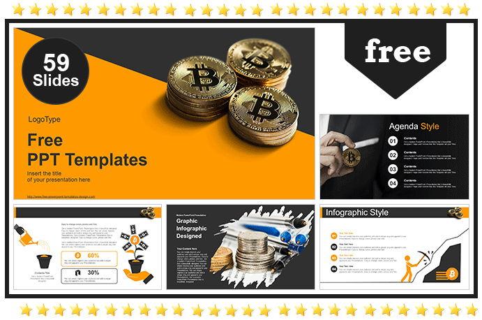 Golden Bitcoin Templates