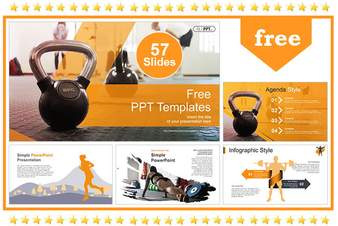 Workout with Kettle Bell Templates